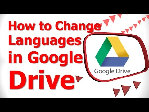 How to Change Languages in Google Drive