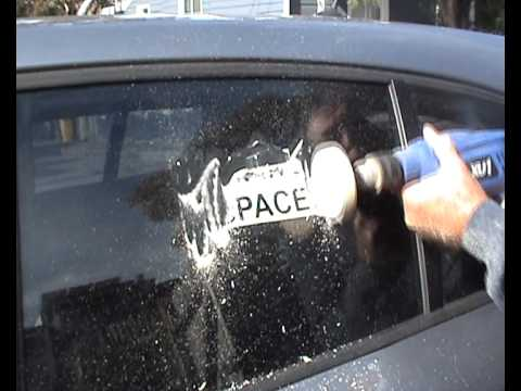 Car Decal / Sticker Removal - Quick and Easy