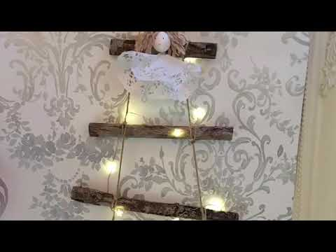 Michelle Makes Christmas Day 9 DIY Twig Tree