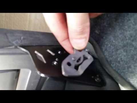 Rear Armrest/Cup Holder Install Audi A4 B6