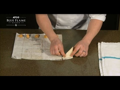 How To Make Phyllo Triangles