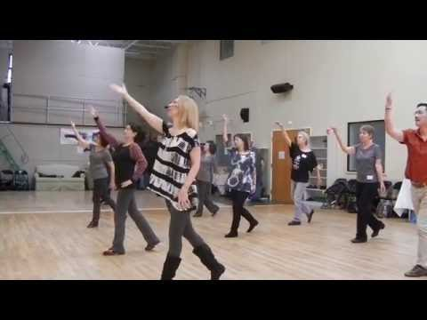Heaven On Earth line dance, Simon Ward & Malene Jakobsen