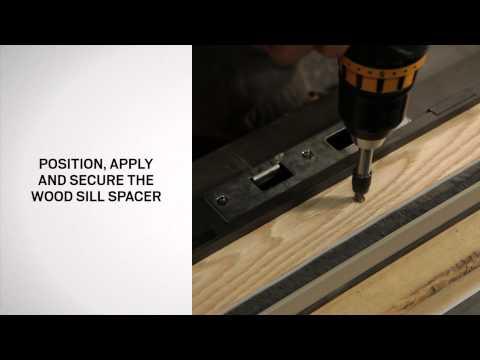 Retractable Insect Screen Installation on Andersen® Patio Doors