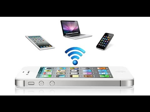 How to share internet by making your android device an Internet access point/portable hotspot