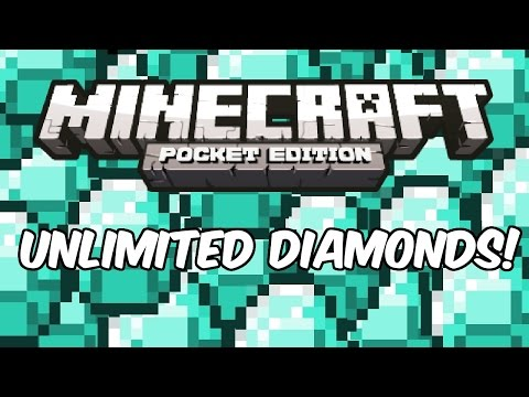 INFINITE DIAMONDS! - Minecraft: Pocket Edition Cheat/Glitch/Hack
