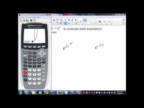 sec8 2 Algebra II Part 3 Exponential Function of e