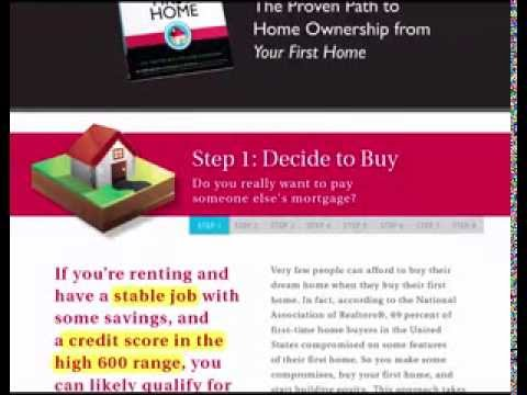 First Time Home Buyer Guide - Step 1- Decide to Buy
