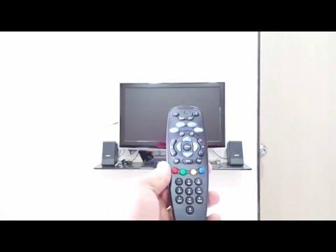 How to use Tata sky remote with TV