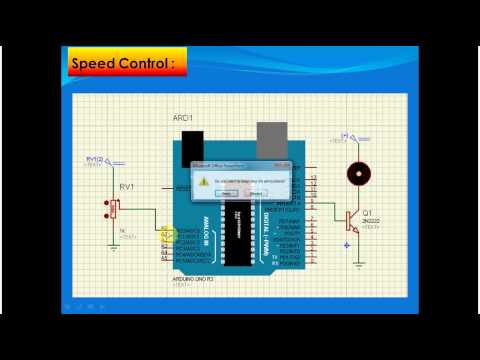 Lecture 27 Part 4 Speed Control For DC Motor Using PWM And Arduino