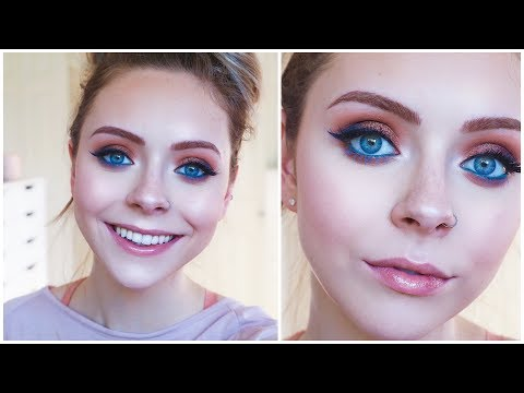 Chatty GRWM and Trying New Makeup!