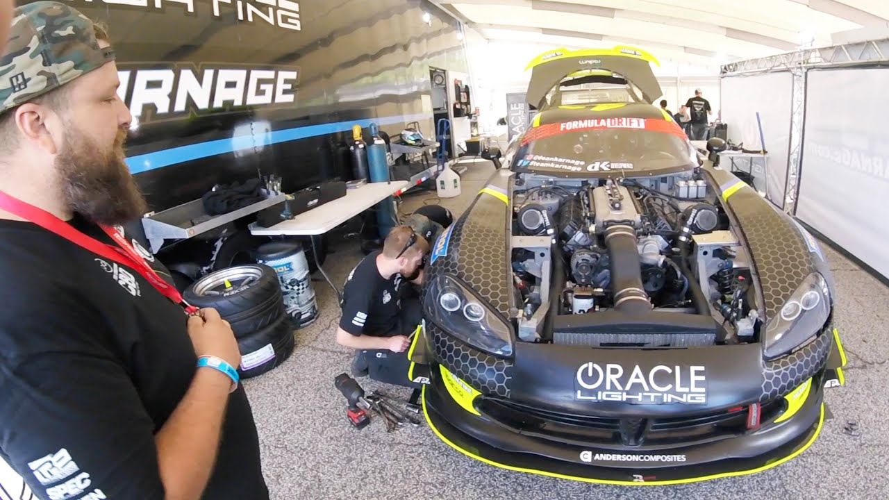 Inside Formula Drift: 3x Champ Chris Forseberg, 1300HP TT Viper, Technology! Nitto Honeypot