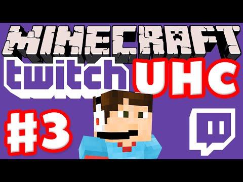 Minecraft Twitch UHC Part 3 (Ultra Hardcore Minecraft Live