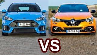 2018 Renault Megane RS VS 2018 Ford Focus RS