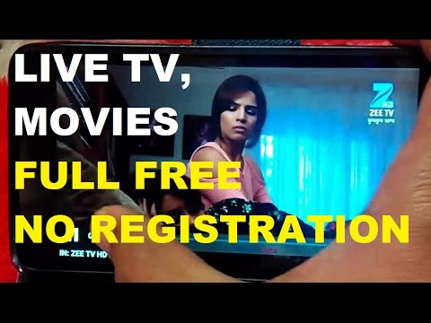 Watch Live TV & Movies for Free Without Registration