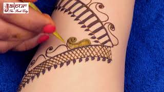 Latest mehndi design for Hands | New mehndi design for stylish girls | henna tattoo #153