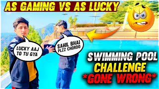 I Throw As lucky In Swimming Pool WTF Moment  - Garena Free Fire