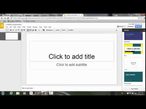 New Themes in Google Slides!