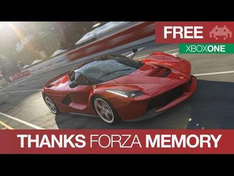 Thanks FORZA Memory   Free Forza 5 Weekend on Xbox One