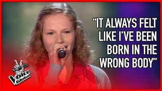 BRAVEST Blind Audition EVER in The Voice | STORIES #9