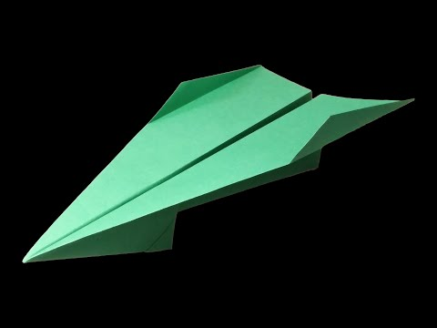How to make a Good Paper Airplane that FLIES 100 FEET - Paper airplanes that FLY FAR . Robin