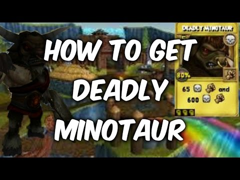Wizard101 Tips & Tricks #8: How to get DEADLY MINOTAUR tc