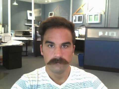6 Months Mustache Growth Time Lapse