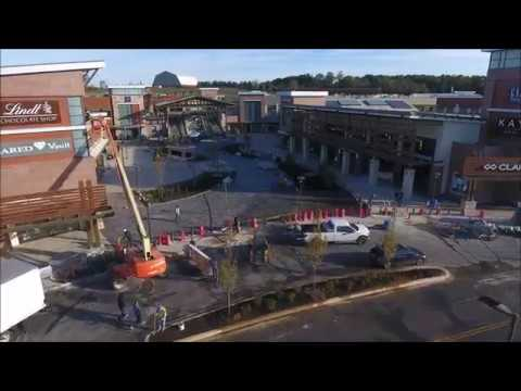 Clarksburg Premium Outlets - Drone Footage, Final Stages of Construction