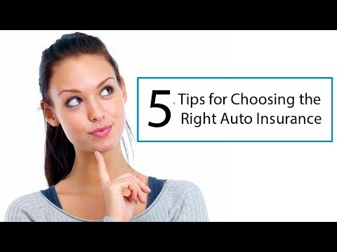 INSURANCE: How to Select the Right  Insurance Company