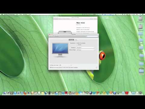 OS X 10.8 Mountain Lion on Mac Mini mid 2011 using Airplay on Apple TV