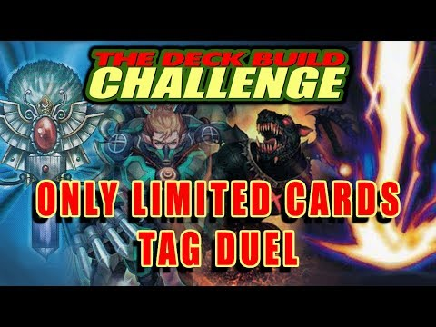 ONLY LIMITED CARDS: TAG DUEL- The Deck Build Challenge w/ Many Patrons