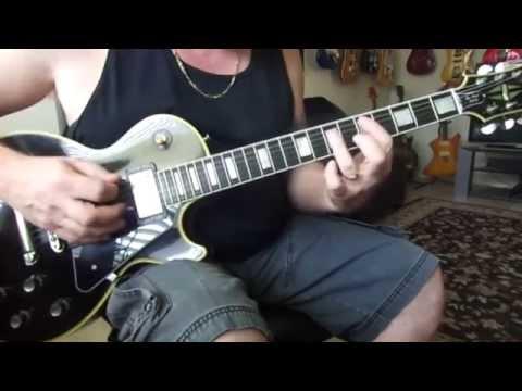 Gibson '57 Classic humbucker vs Burstbucker 2 vs (2) Epiphone Classic plus humbuckers tone test