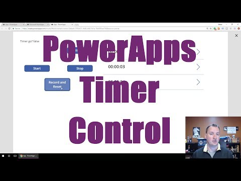 PowerApps Timer Control