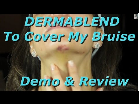 DERMABLEND Quick-Fix Body Demo & Review ~ Bruise