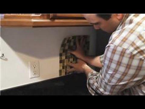 Installing Tiles : Kitchen Tile Backsplash Tips