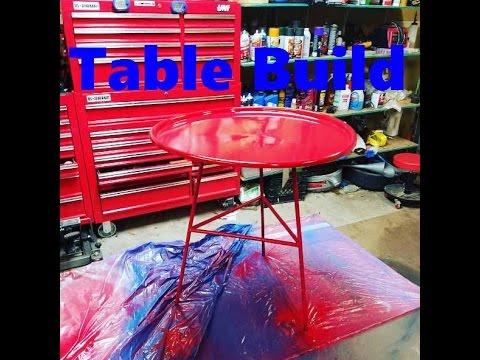 MaksWerks Cheap Welding Videos - Oil Drum Coffee Table