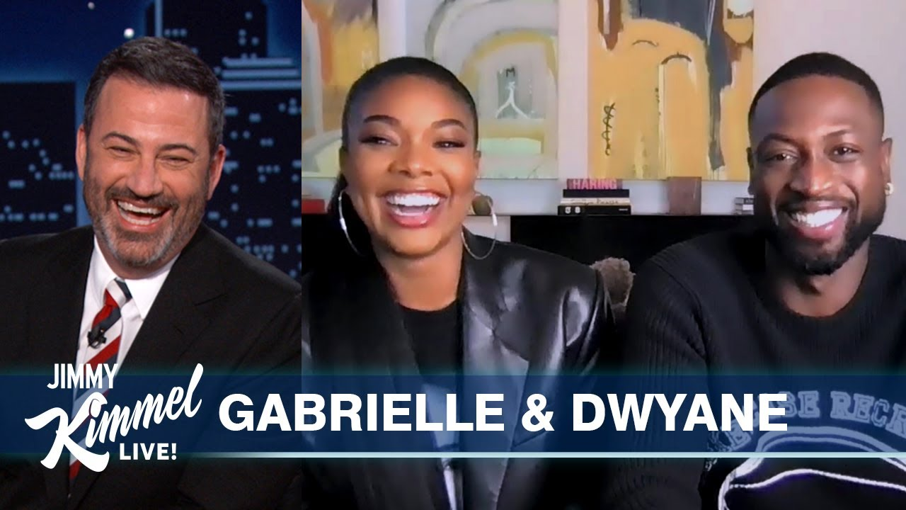 Gabrielle Union LOVES Having Dwyane Wade Home All the Time
