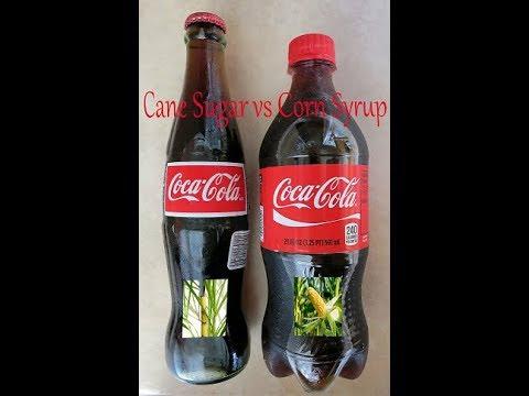 Coca-Cola Showdown! Cane sugar vs high fructose corn syrup
