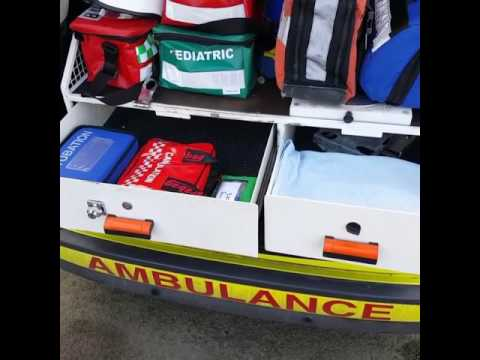 Ambulance response car equipment/ rear tour/ emergency paramedic/ pc medical support services berks