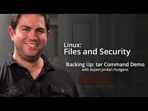 Linux, Part 4: Backing Up: tar Command - CourseSnip