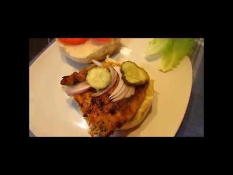 How to Make GRILLED CHICKEN Sandwiches ~ Chicken Recipe