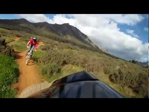 Good riding at G-spot and funny crash