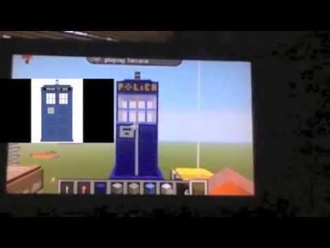 Minecraft xbox 360 edition fan build tardis