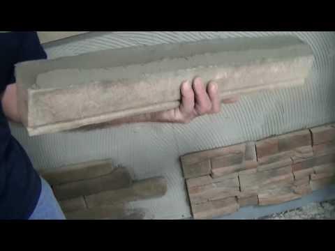 Installing Manufactured Stone, Window Sills & Trims - ProVia
