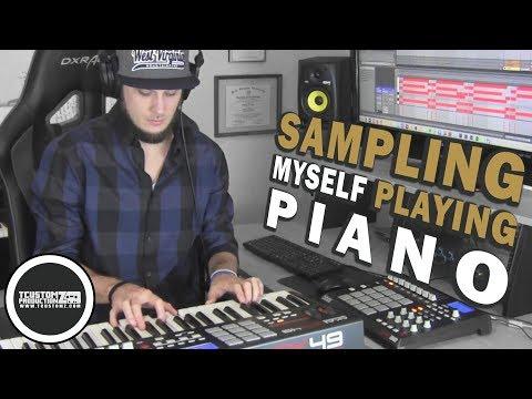 Piano Rhodes Hip Hop Beat Making Video [2018]