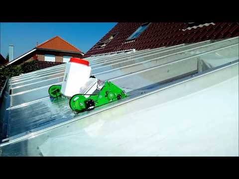 GRawler - Glass roof cleaning crawler