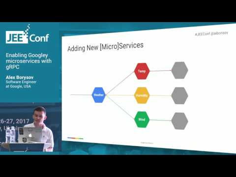 Enabling Googley microservices with gRPC (Alex Borysov, Software Engineer at Google)