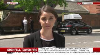 Grenfell Tower Fire: Prayer service for the victims - Katerina Vittozzi