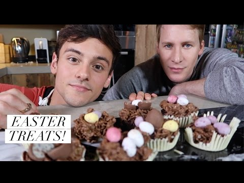 Making Easter Treats with Lance! I Tom Daley