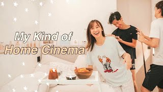 VLOG 為弟弟打造私人電影院 收費$298 🎞 超好喝水果茶 🥝🍋 A Cosy Movie Night at Home ft. Lenor