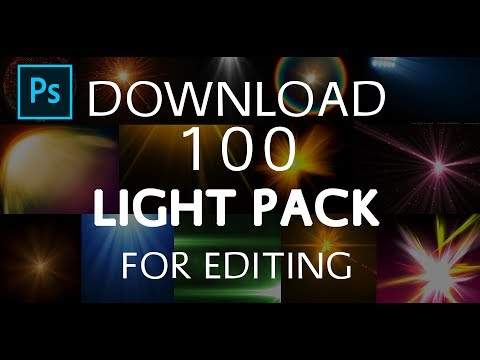How To Download 100 Free Light Pack For Editing